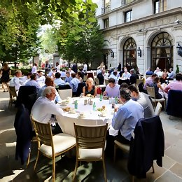 Lunch at the 2017 BancAlliance Annual Meeting