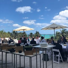 Lunch during BancAlliance's Spring Member Meeting